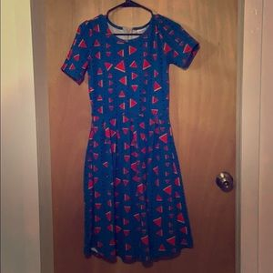 Cute Lularoe watermelon dress